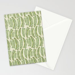 Palm leaves in tiger print Stationery Cards