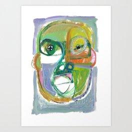 Section Head Art Print