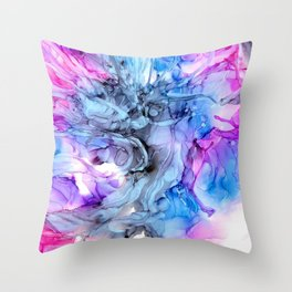At The Ballet Throw Pillow