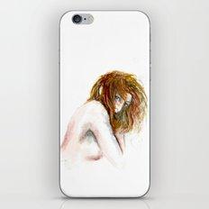 Hidden girl iPhone & iPod Skin