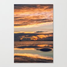 Sunset from the Champalimaud Foundation Canvas Print