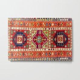 Erzincan  Antique Turkish Rug Metal Print