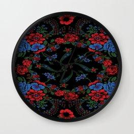 Russian Style Wall Clock