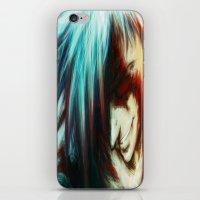 gurren lagann iPhone & iPod Skins featuring Gurren Lagan by ururuty
