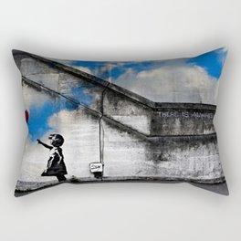 A Balloon to the Wind Rectangular Pillow