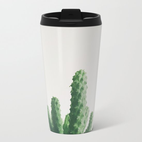 Green Fingers Metal Travel Mug