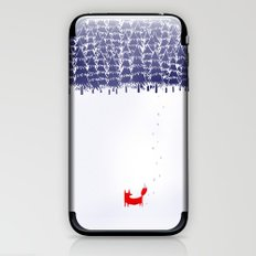 Alone in the forest iPhone & iPod Skin