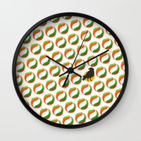 haikyuu Wall Clocks featuring crows by robin