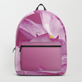 Lotos Flowers Pink Backpack