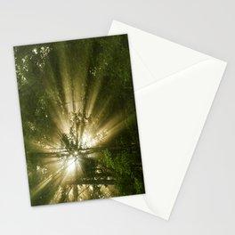 Sunrise Trees Stationery Cards