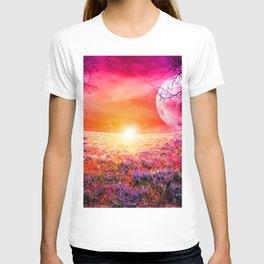 Purple Landscape XXI T-shirt