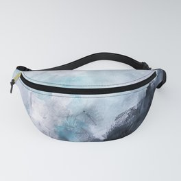 Wave Form Fanny Pack