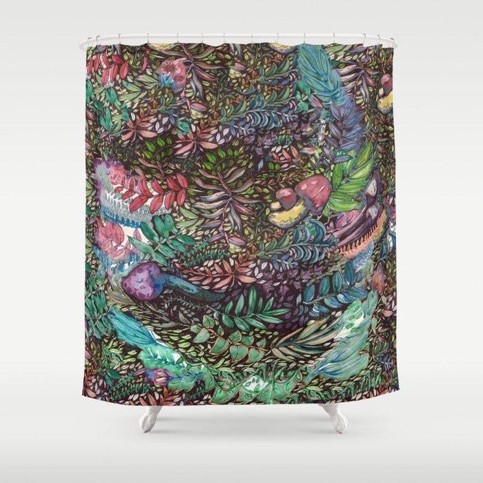 Intense Nature Shower Curtain
