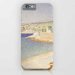 The Jetty at Cassis, Opus 198 iPhone Case