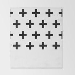 La Cross Throw Blanket