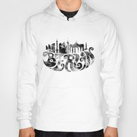berlin Hoodies featuring Berlin by C.Matthes Art