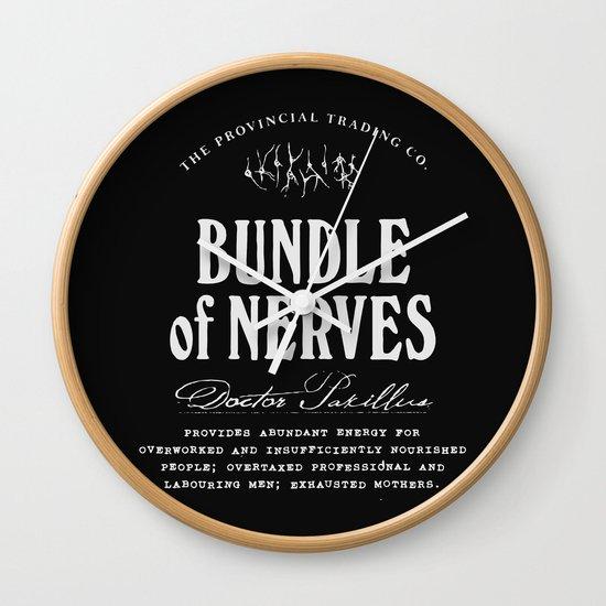 Bundle of Nerves Wall Clock