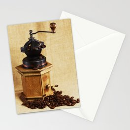 Coffee grinder NO.2 Stationery Cards