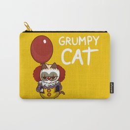 It Cat Clown  Funny Carry-All Pouch