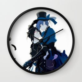 The Crow & The Butterfly Wall Clock