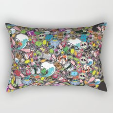 Sticker Bomb Rectangular Pillow