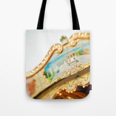 San Francisco Carousel Tote Bag