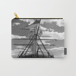 Baltimore Harbor - USS Constellation Carry-All Pouch