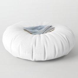 Mississippi River - Illinois Floor Pillow