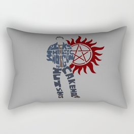 Dean winchester supernatural Rectangular Pillow