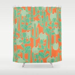 Cactus Mania Shower Curtain