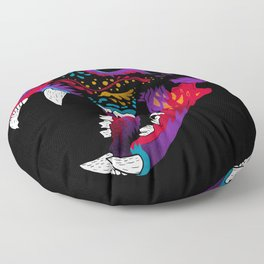 El Gato Muerto Floor Pillow