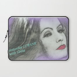 Greta la divina Laptop Sleeve