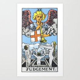 20 - Judgement Art Print