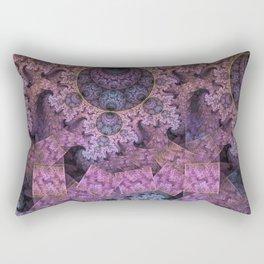Unendless amazing patterns and balls Rectangular Pillow