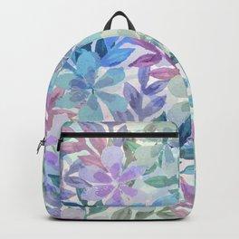 watercolor Botanical garden Backpack