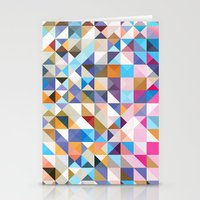 confetti Stationery Cards featuring Confetti by FRAXTURED