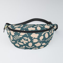 Floral Vase | Blue, Red, + Peach Fanny Pack