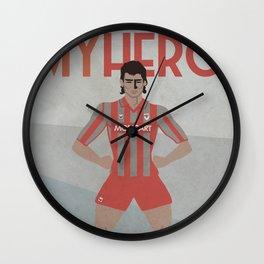 MY HERO - 9 DEZOTTI - ZEROSTILE FACTORY Wall Clock