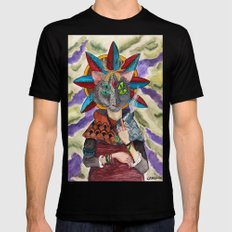 The Shaman Black SMALL Mens Fitted Tee