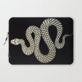 Snake's Charm in Black Laptop Sleeve
