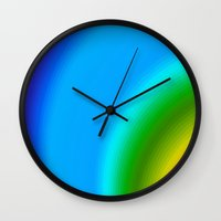 picasso Wall Clocks featuring Picasso by Brian Raggatt