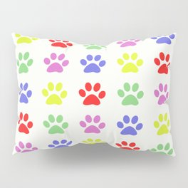 Pawprints Pattern I Pillow Sham