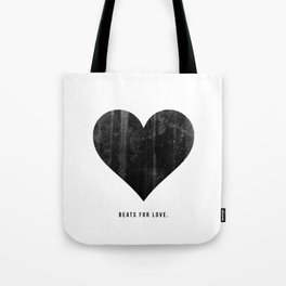Beats for Love. Tote Bag