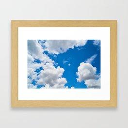 Clouds 3 Framed Art Print