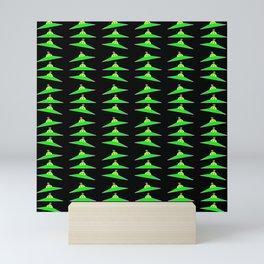 Flying saucer 4 Mini Art Print
