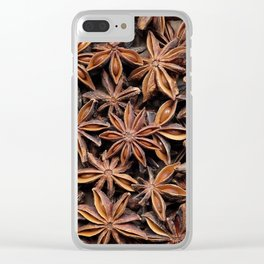 Aromatic star anise seeds Clear iPhone Case