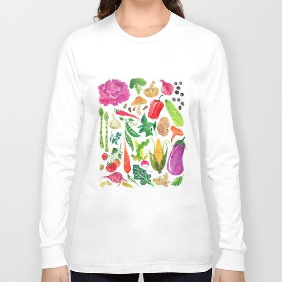 VEGGIES Long Sleeve T-shirt