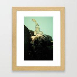 """""""Relax"""" Framed Art Print"""