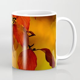 VIVID AUTUMNAL LEAVES Coffee Mug