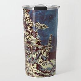 Moonlit Tower Travel Mug